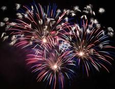 Oceanside fireworks show