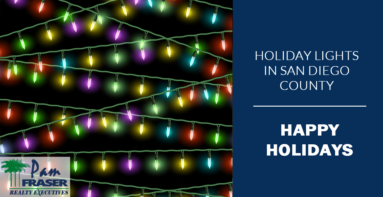 Holiday Lights in San Diego County
