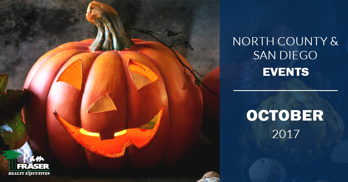 North County and San Diego Events October 2017